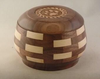 Walnut & Maple Pet Urn # 932-20