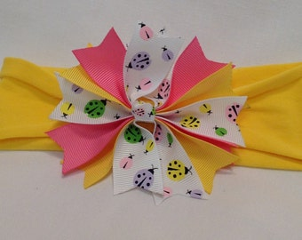 Pinwheel Hairbows/Baby Hairbows/ Girls Hairbows