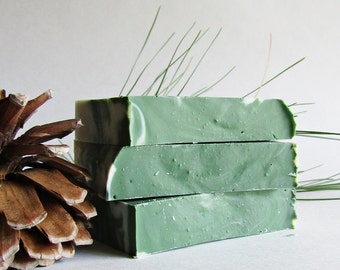 Rustic Woods and Rum Cold Process Soap - Handmade Soap - Woods Scent Soap - Secret Santa - Christmas Gift