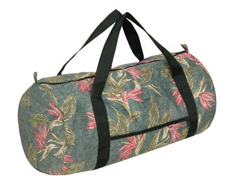 ALOHA tropical print weekend bag