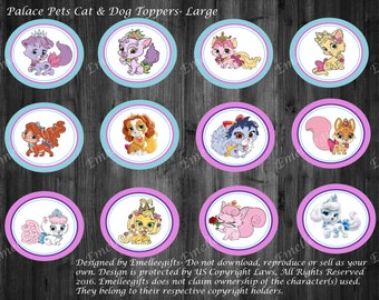Princess Palace Pets Cat & Dog Toppers ~INSTANT DOWNLOAD~