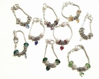 SWAROVSKI HEART BIRTHSTONE bracelet!!