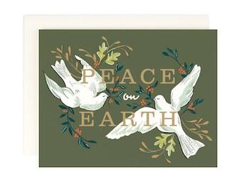 Christmas Card - Peace on Earth