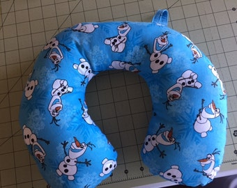 Child Travel Neck Pillow Disney Frozen Olaf