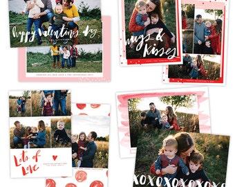 INSTANT DOWNLOAD - Valentine's Photocard BUNDLE - e1446