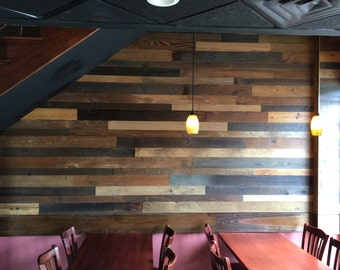 Reclaimed Wood Wall Paneling Diy Asst 3 Inch Boards Barnwood