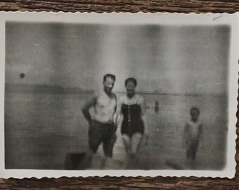 Original Vintage Photograph On a Dark Day