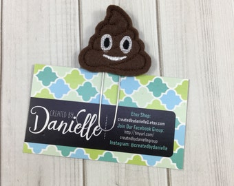Poop Gift Idea, Unique Planner Bookmark, Funny Gift Idea, Planner Paper Clip, Book Club Gifts, Cute Book Gifts