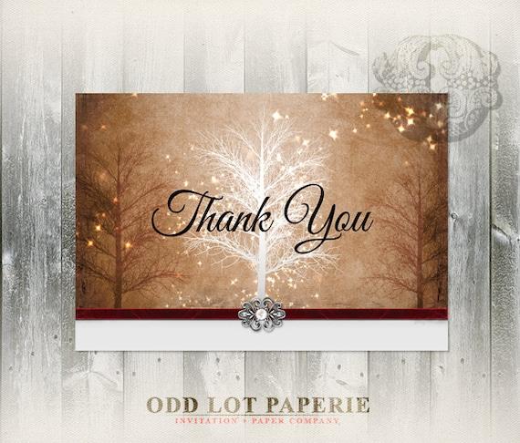 Winter tree thank you winter wonderland thank you card elegant il570xn m4hsunfo