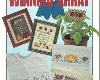 "Clearance - ""Winning Array"" Counted Cross Stitch by Leisure Arts"