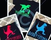 Dinosaurs Birthday Shirts