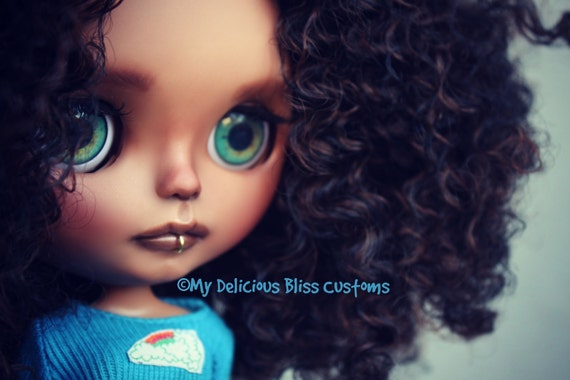 RESERVED 2nd INSTALLMENT LISTING Emilia, One Of A Kind Beautiful Brown Blythe