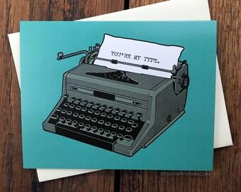 My Type Card