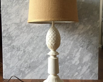 Vintage Lamp Pineapple  Blanc De Chine Lighting Hospitality Pineapple Inspired Design