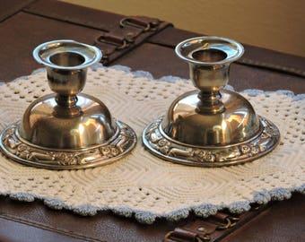 Oneida SilverSmiths Candle Holders, CandleSticks