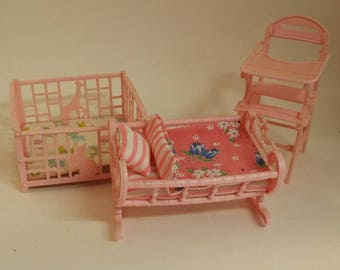 Doll Cradle Etsy
