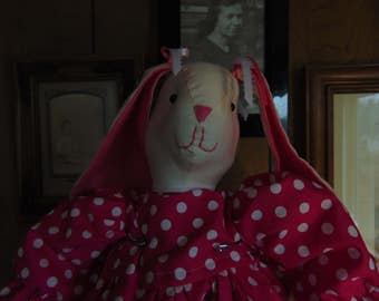 Bella the Stuffed Easter Bunny Rabbit Doll