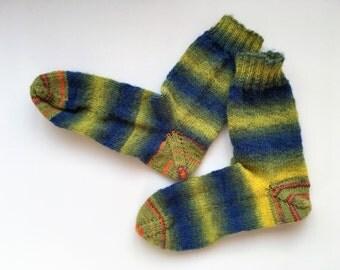 knitted women's socks,women's wool socks,women's gift,gift for her
