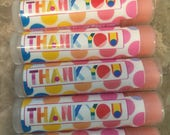 Personalized, Customer Gifts, 60, Lip Balm, Chapstick, Custom, Consultants Gifts, Thank You Gifts, Party Favors