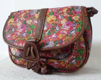 Kenzo iconic floral print bag vtg
