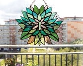 Green man suncatcher