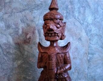Wooden Thai Gatekeeper