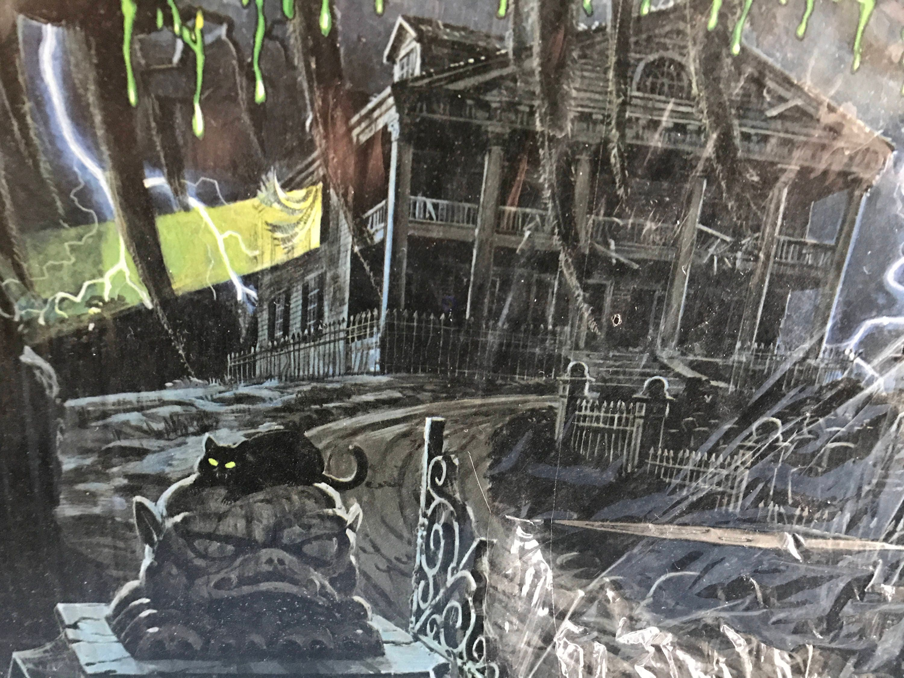Rare Vintage Halloween Horrors Haunted House