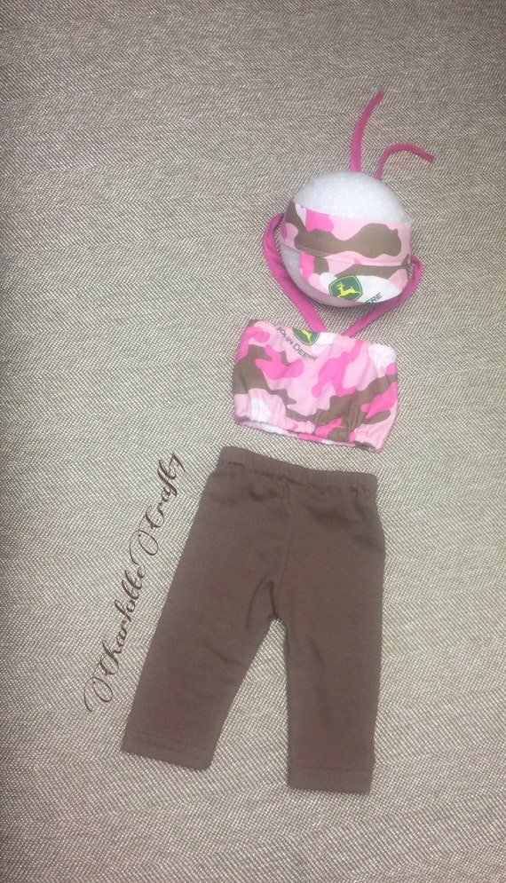 Camouflage Newborn Pants Set