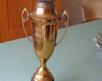 Vintage Senior Champion 1948 Champaign County Swine Trophy
