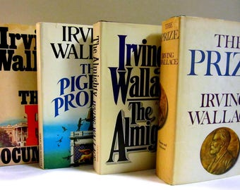 Irving Wallace Bundle of Four Books