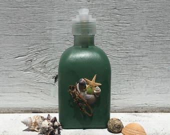 Seashell Soap and Lotion Pump,Seashell Soap Pump, Beach Bathroom, Coastal Bathroom, Bridal Shower Gift, Unique Gift, Hostess Gift