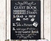 Guestbook Photobooth Sign, Add photo to our Guestbook Wedding Sign, Photo Station Sign, 8x10 Instant Download