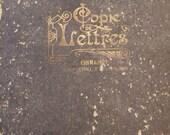 Antique Handwritten Accounts Book. French . Agriculture Merchants. Perpignan France.  1914