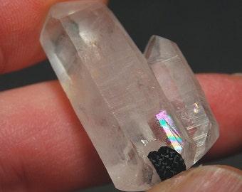 WASHINGTON Quartz Pendant - BRIDGE & RAINBOW Crystal - toooo Cool !!
