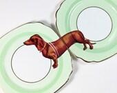 Sausage Doggie plates