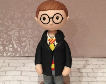 Polymer clay Harry Potter cake topper,birthday,cake decorations,parties