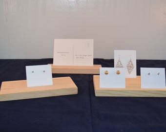 Earring Card Display / Earring Card Holder / Earring Card Organizer / Business Card Display / Jewelry Display Board