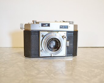 Vintage Agfa Karat 36  Range Finder Camera with Leather Case ~ Vintage Camera ~ Photography ~ Epsteam