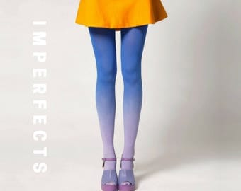 BZR Ombré Tights in Moonbeam - SALE
