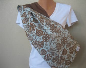 Reversible Pet Sling with Pocket