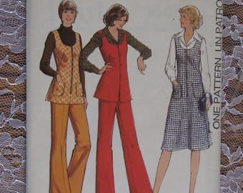 Vintage Style Sewing Pattern no.1645 from 1976