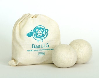 BaaLLS Organic Wool Dryer Balls