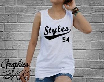 Styles Shirt STYLES 94 Shirt Women's Tank Top Shirt STYLES 94 T-Shirt  (XS-L) Free Shipping