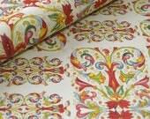 Italian Decorative Wrapping Paper, Florentine, Gift Wrap - Red Fleur de Lis Motif