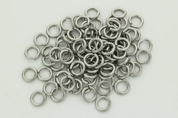 how to cut steel jump rings