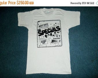 35% OFF Vintage The Specials 1980 Promo Tour Concert T-shirt With The Stray Cats