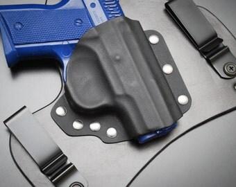 CZ-USA 2075 RAMI Black Leather Kydex Hybrid Gun Holster Concealed Carry iwb