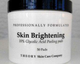 Glycolic Acid 10% Brightening Peel Pads