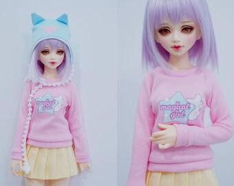 Slim MSD Minifee or SD BJD Sweater - Magical Girl Star