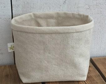 Linen + Cotton Basket